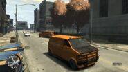 Declasse Burrito de gang Variante orange GTA IV The Lost And Damned