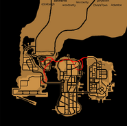 Tunnel Porter - GTA III (carte)