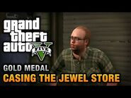 GTA 5 Mission 11 Casing the Jewel Store (Xbox 360)