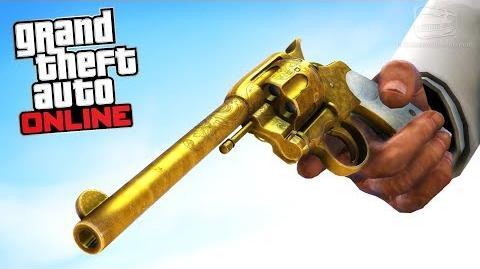 GTA Online - Secret Revolver Treasure Hunt & Challenge Red Dead Redemption 2