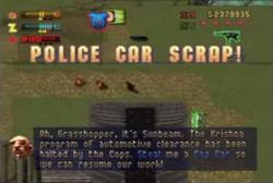 Cop Car Crush! / Police Car Scrap!