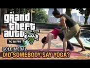 GTA 5 Mission 26 Did Somebody Say Yoga? (PC)