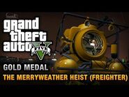 GTA 5 Mission 30 The Merryweather Heist (Xbox 360)