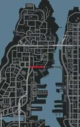 Asahara Road Carte GTA IV