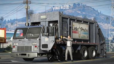 Caminhão de Lixo (Missão)