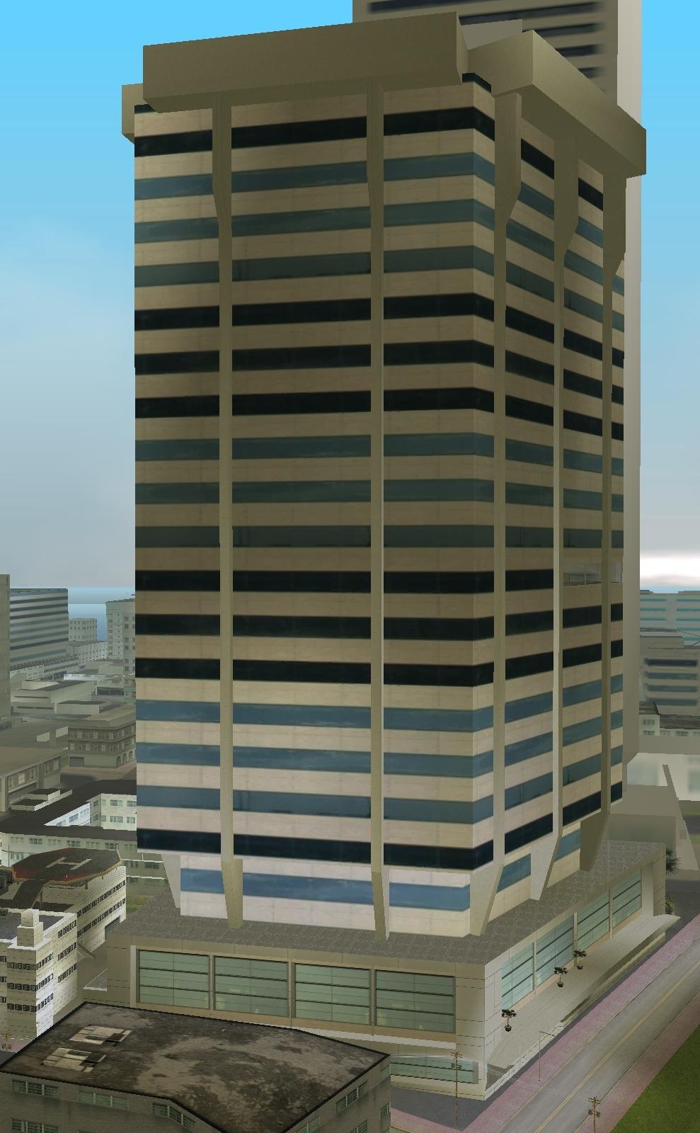 Wieżowiec w Downtown