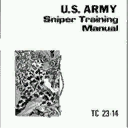 U.S. Army Sniper Training Manual