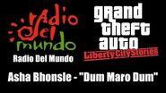 "GTA Liberty City Stories - Radio Del Mundo Asha Bhonsle - ""Dum Maro Dum"""