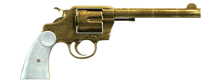 Revolver double action