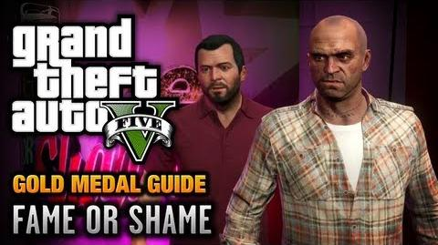 GTA_5_-_Mission_22_-_Fame_or_Shame_100%_Gold_Medal_Walkthrough