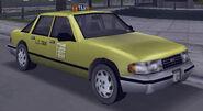Taxi vue avant GTA3