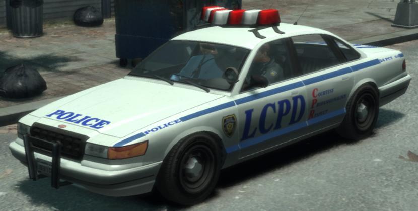 Полицейский Cruiser