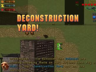 De-Construction Yard!