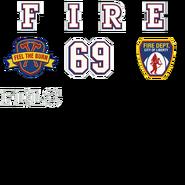 Firetruck decals