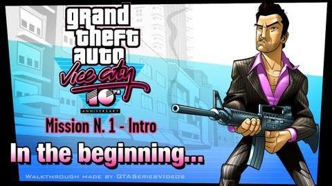 GTA Vice City - iPad Walkthrough - Intro & Mission 1 - In the beginning...
