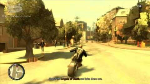 GTA IV The Lost and Damned Mission 2 - Angels in America