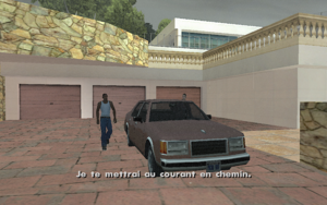 Vertical Bird GTA San Andreas (départ)