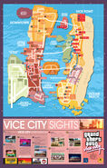GTA VC - Mapa
