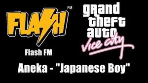 "GTA Vice City - Flash FM Aneka - ""Japanese Boy"""