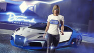 Truffade Thrax Motif et T-Shirt GTA Online