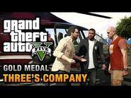GTA 5 Mission 24 Three's Company (Xbox 360)