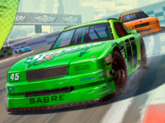 Hotring Sabre Artwork On trace à San Andreas