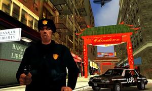 Polizist, Chinatown, LCS