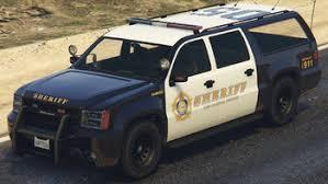 Sheriff SUV