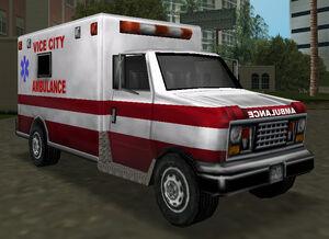 Ambulance gtavc front