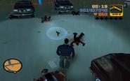 GTA III Kanbu hősi halála