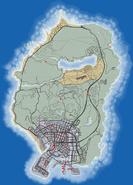 Wyjątkowe skoki w GTA V (mapa)
