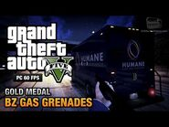 GTA 5 Mission 15 BZ Gas Grenades (PC)