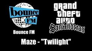 "GTA San Andreas - Bounce FM Maze - ""Twilight"""