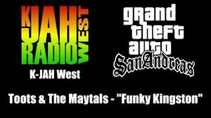 """GTA San Andreas - K-JAH West Toots & The Maytals - """"Funky Kingston"""""""