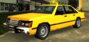 Taxi vue avant GTAVCS