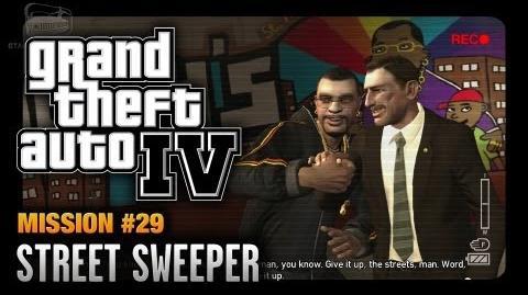 GTA 4 - Mission 29 - Street Sweeper (1080p)