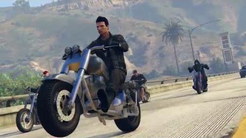 BIKERS UNITE GTA V DLC VIDEO Rockstar Editor