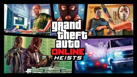Grand Theft Auto Online Vidéo de Braquages