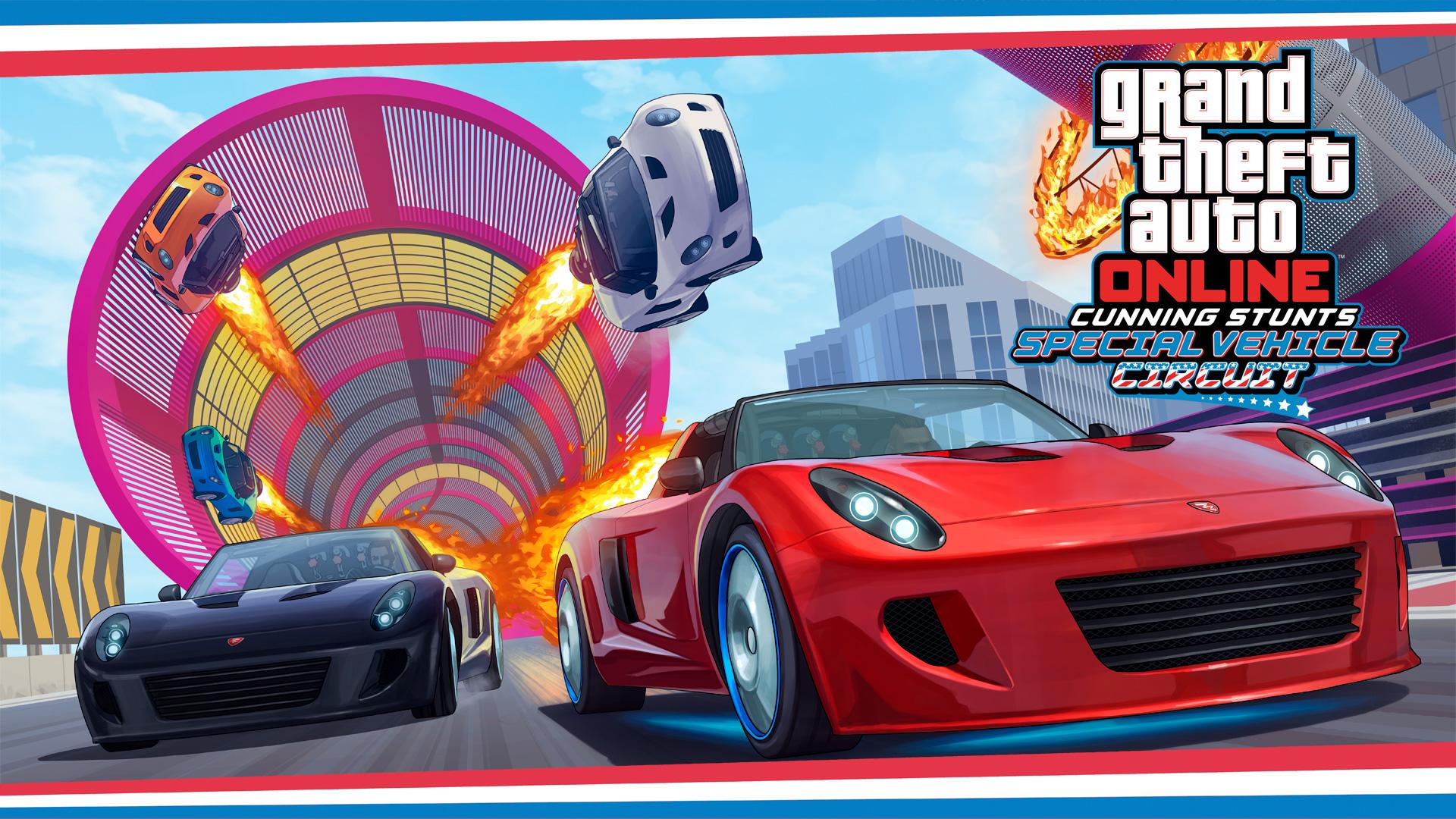 GTA Online: Manobras e Crânios Rachados: Circuitos Especiais
