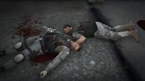Dead Merryweather soldiers