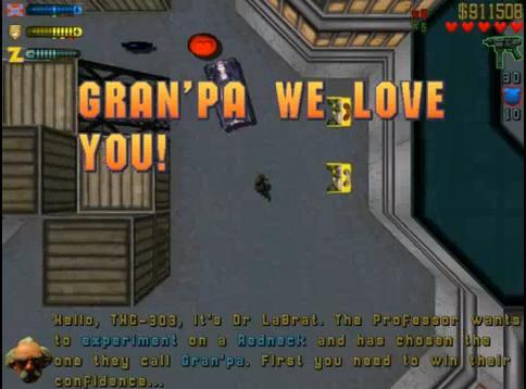 Gran'pa We Love You!
