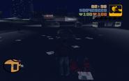 GTA III Curly Bob dead