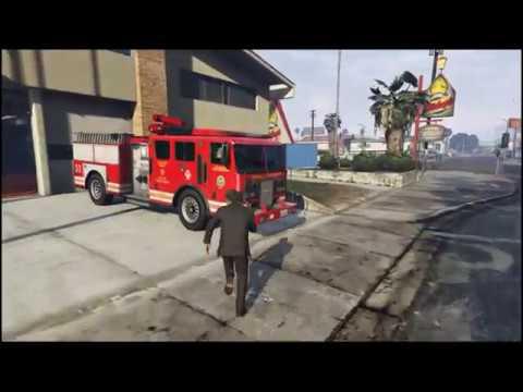 Caminhão de Bombeiros (Missão)