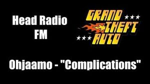 """GTA 1 (GTA I) - Head Radio FM Ohjaamo - """"Complications"""""""