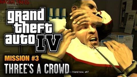 GTA 4 - Mission -3 - Three's a Crowd (1080p)