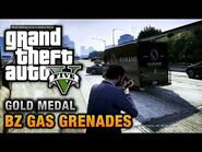 GTA 5 Mission 15 BZ Gas Grenades (Xbox 360)