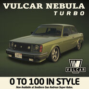 Vulcar Nebula Turbo Publicité GTA Online