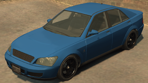 Sultan GTA IV (vue avant)