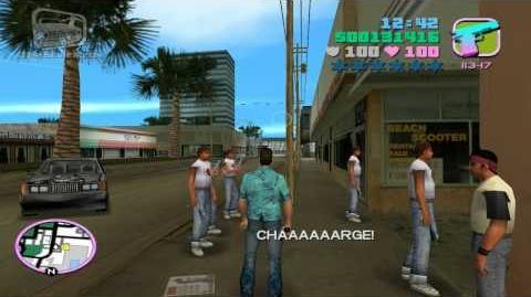 GTA Vice City - Walkthrough - Mission 31 - Cannon Fodder (HD)