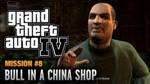GTA 4 - Mission -8 - Bull in a China Shop (1080p)